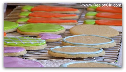 Meyer Lemon Cut-Out Sugar Cookies (No Chill) - RecipeGirl