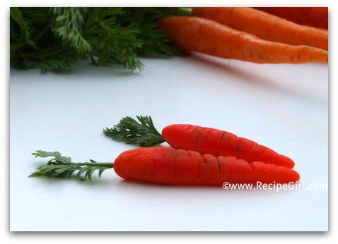 Petite Marzipan Carrots Recipegirl
