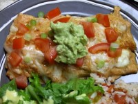 Creamy Chicken Enchiladas1