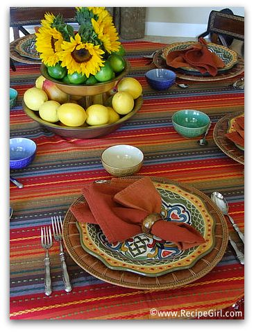 Cuban Themed Dinner Party Menu