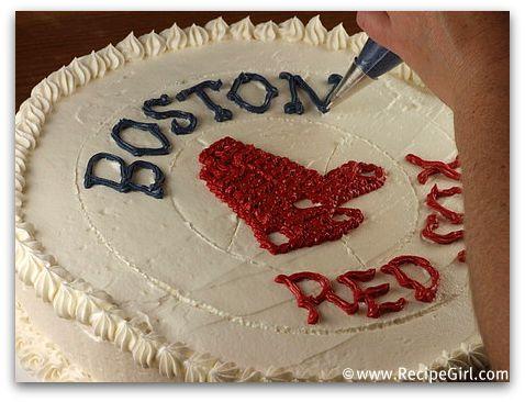 Boston Red Sox Birthday Cake RecipeGirl