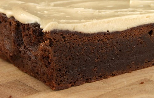 Kahlua Brownies With Browned Butter Kahlua Icing Recipe — Dishmaps
