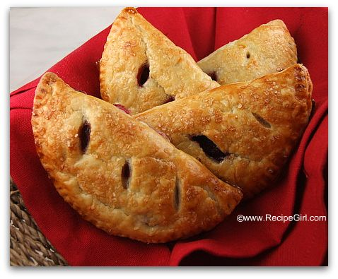 This recipe can be found here: Fresh Cherry Turnovers