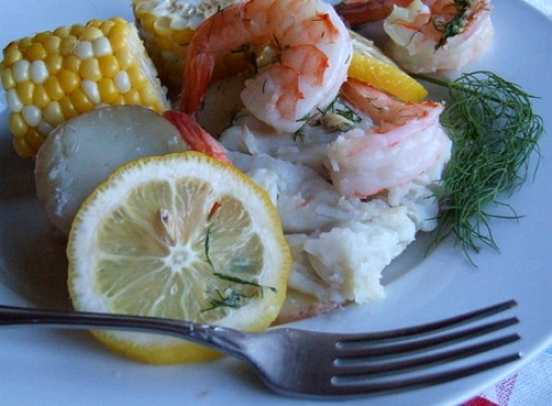 ... grilled new england seafood bake recipes dishmaps new england