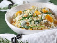 Butternut Squash Rosemary and Blue Cheese Risotto 3