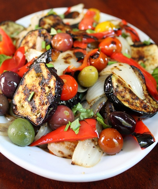 Grilled Vegetable Salad Recipe — Dishmaps
