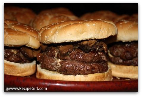 Gorgonzola Stuffed Burgers