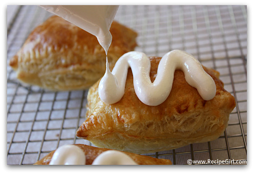 Peanut Butter S'Mores Turnovers recipe - from RecipeGirl.com