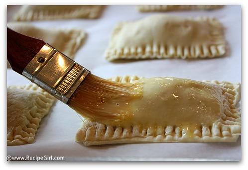 Peanut Butter S'Mores Turnovers recipe - from RecipeGirl.com