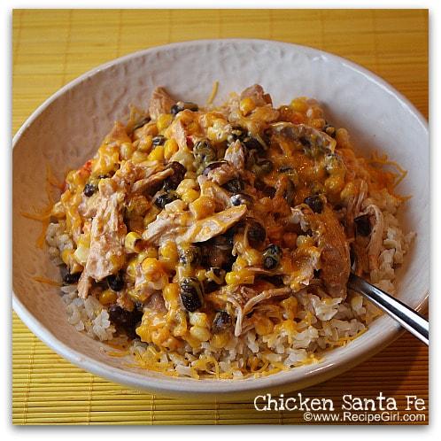 Easy Chicken Santa Fe