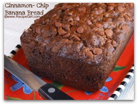 Cinnamon Chip Banana Bread 1