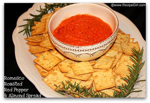 Romesco Roasted Red Pepper Spread