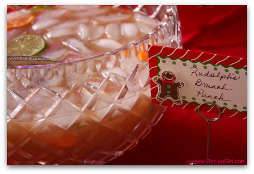 Rudolphs Brunch Punch