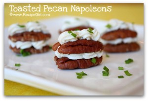 Toasted Pecan Napoleans
