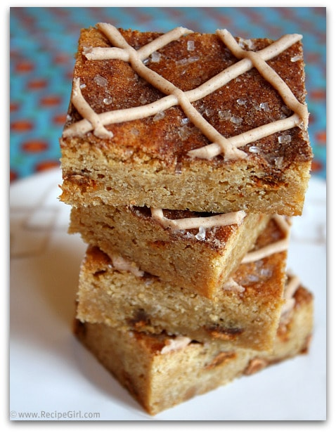 Snickerdoodle Blondies 2