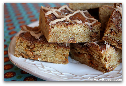 Snickerdoodle Blondies 3