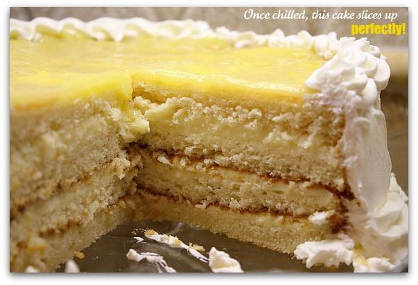 Easter dessert recipe lemon truffle cake i recently tested this recipe forumfinder Choice Image