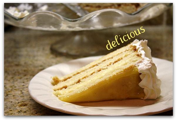 Easter dessert recipe lemon truffle cake for Dessert for easter dinner
