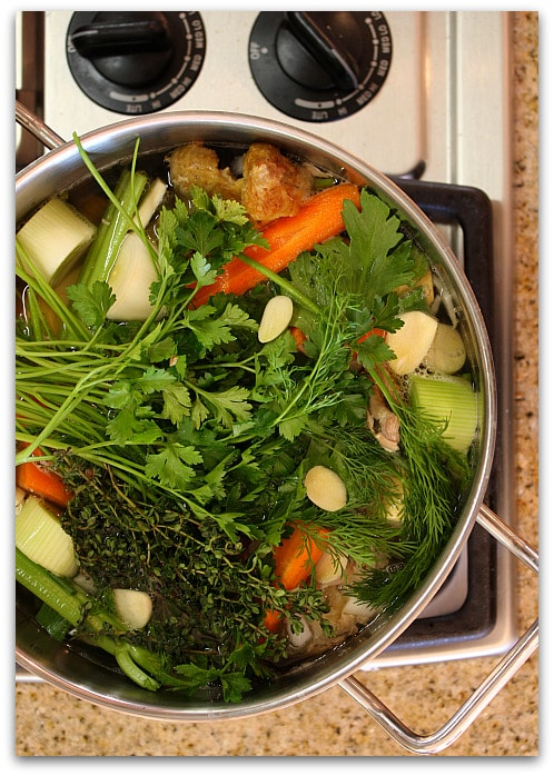 How to make homemade chicken stock after forumfinder Choice Image