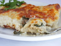 Creamy Chicken & Spinach Enchiladas