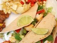 Shrimp Tacos with Chipotle Cream