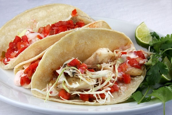 Quick and easy fish tacos recipe for What kind of fish for fish tacos