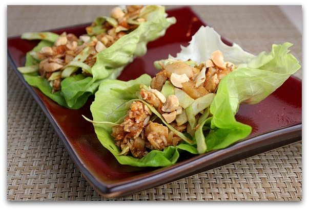 ... lettuce, but Bibb lettuce is best for lettuce wraps. It's small in