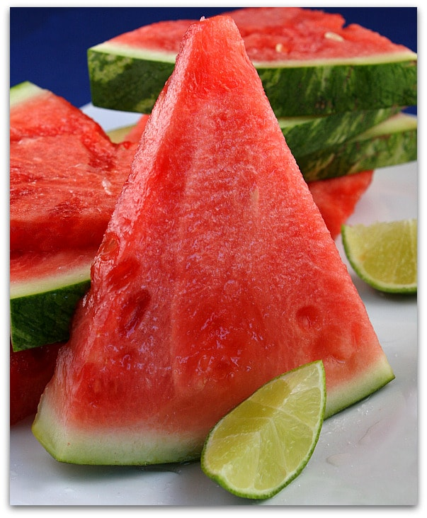 4th of July Recipes: Tequila- Soaked Watermelon Wedges