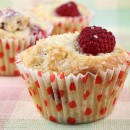 Sugar Crusted Raspberry Muffins
