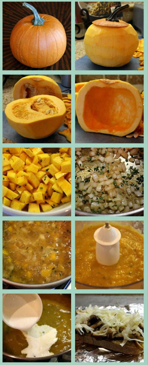 How to Make Roasted Pumpkin Bisque
