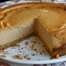 Low Fat Pumpkin Cheesecake 1