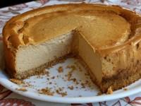 Low Fat Pumpkin Cheesecake 1