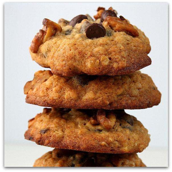 Banana- Walnut Chocolate Chip Cookies : Finally a banana cookie that ...