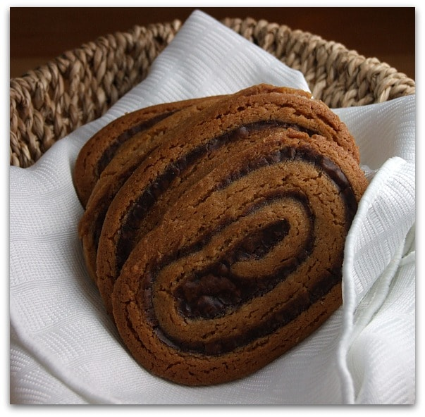 Peanut Butter- Chocolate Swirl Cookies : Based off of an old Christmas ...