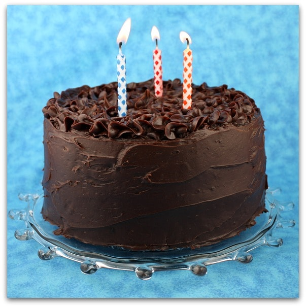 Most Beautiful Chocolate Birthday Cakes Chocolate layer cake with