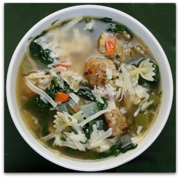 Wedding Soup: Ina Garten's Italian Wedding Soup