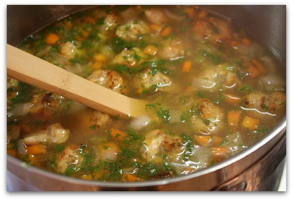 Ina Garten's Italian Wedding Soup - RecipeGirl