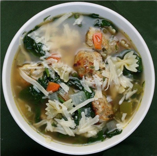 Ina Garten Soup Recipes ina garten's italian wedding soup - recipegirl