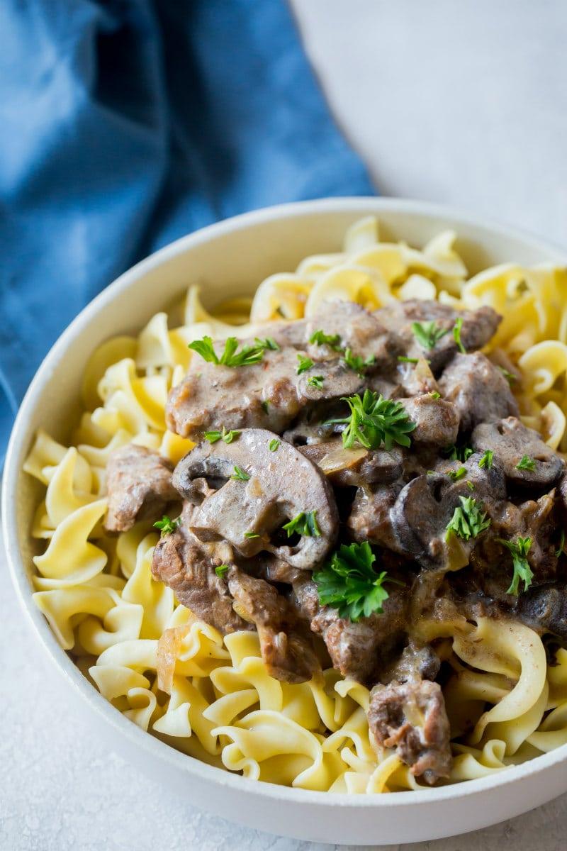 Best Slow Cooker Beef Stroganoff Recipe