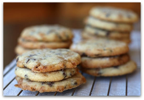 Toffee- Chocolate Chip Cookies - RecipeGirl