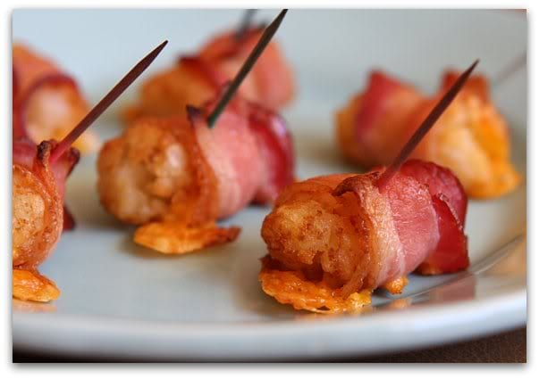 Bacon Wrapped Tater Tots 15