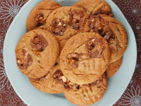 Snickers Bar Cookies 12
