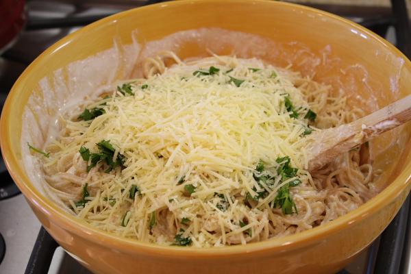 Baked Lemon Spaghetti 10