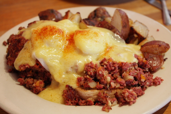 Irish Bacon Benedict Recipe — Dishmaps