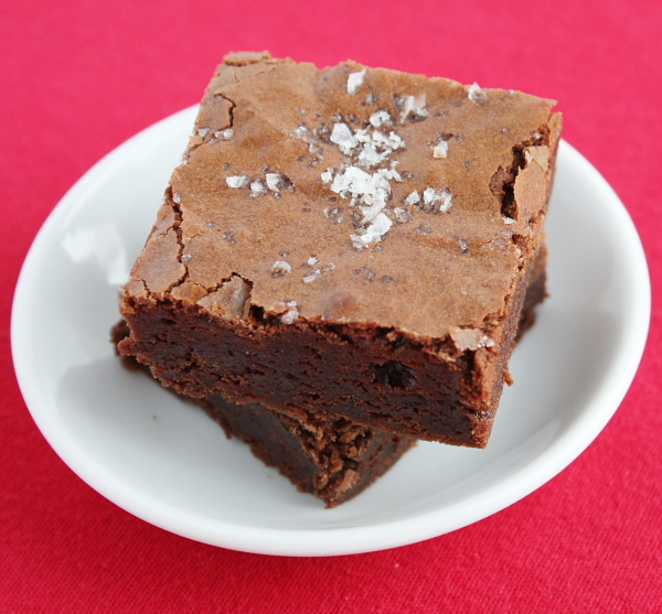 Salted Fudge Brownies 19