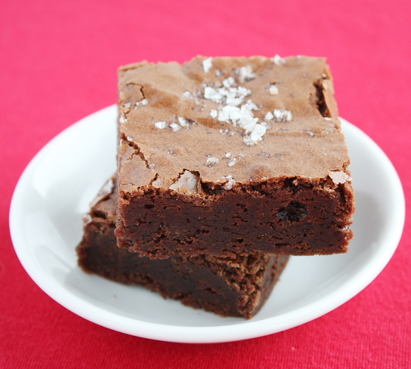 Salted Fudge Brownies 9