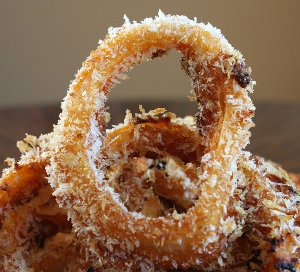 ... onion rings onion rings crunchy baked onion rings and chipotle ketchup
