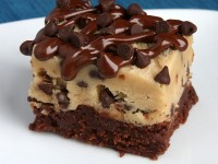 Chocolate Chip Cookie Dough Brownies 33