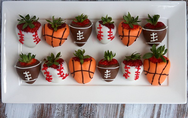 Sports Dipped Strawberries