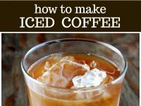 pinterest collage image for how to make iced coffee